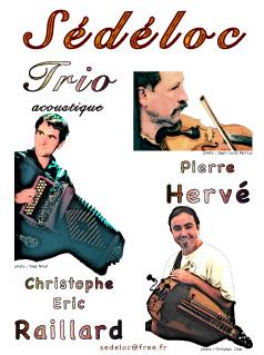 Sédéloc Trio acoustique